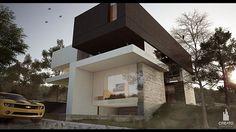 Casa la Villa / Villa House by Creato Arquitectos, via Behance