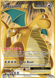 Dragonite EX (Full Art) - XY - Evolutions, Pokemon - Online Gaming Store for Cards, Miniatures, Singles, Packs & Booster Boxes Pokemon Real, Cool Pokemon Cards, Rare Pokemon Cards, Pokemon Gifts, Pokemon Trading Card, Pokemon Fusion, Pokemon Cards Legendary, Pokemon Go Cheats, Pokemon Online