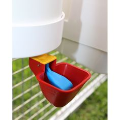 Drinker & Feeder Set - with Rain Cover - Drinkers and Feeders