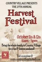 Harvest Festival Weekend   Country Village