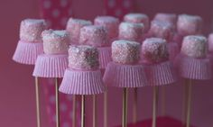 These sweet Ballerina marshmallow pops are perfect for a little girl's birthday party and you'll love that they are little trouble for maximum impact. These are so easy even the kids could help you.