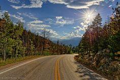 Bursting Through the Colorado Rocky Mountains