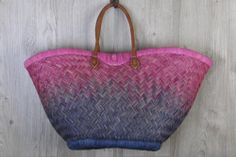 Pink Beach Basket Beach Basket, Pink Beach, Wild Orchid, Straw Bag, Handbags, Tote Bag, Boutique, Fashion, Purses