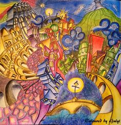 The Magical City Colouring Book By Lizzy Mary Cullen Themagicalcity Lizzymarycullen Coloringbooks
