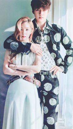 Find images and videos about kpop, exo and sehun on We Heart It - the app to get lost in what you love. Irene Red Velvet, Exo Red Velvet, Seulgi, Baekhyun, South Korean Girls, Korean Girl Groups, Sehun Irene, Shinee, Red Velvet Photoshoot