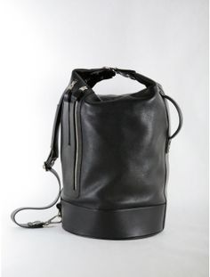 side handle bag silver