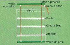como hacer una cortina estilo romana facil - Buscar con Google
