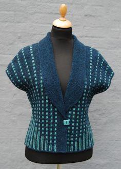 Ravelry: Drip-drop pattern by Hanne Falkenberg Pullover Design, Sweater Design, Knit Cardigan Pattern, Vest Pattern, Drops Patterns, Knitting Patterns, Knitting Tutorials, Crochet Shirt, Knit Crochet