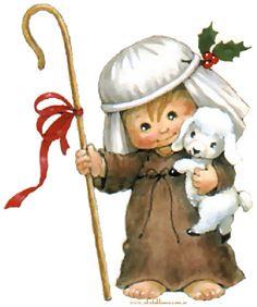 DICEN LOS PASTORES Villancico Tradicional letra y Música infantil de Navidad en todos los Idiomas | Imágenes y figuras