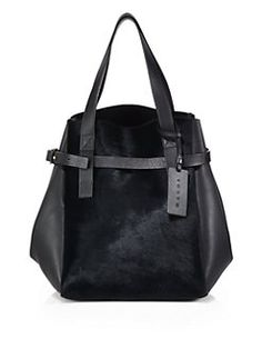 Marni - Calf Hair Top-Handle Shopper