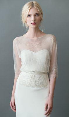 Wedding Dress Inspiration Jenny Yoo Wedding dresses with bling Muslim Wedding Dresses, Wedding Attire, Bridal Dresses, Wedding Gowns, Wedding Bolero, Bridal Tops, Vintage Inspired Wedding Dresses, Wedding Dress Shopping, Mod Wedding