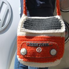 Just finished my Crocheted Campervan Shoulder Bag :)