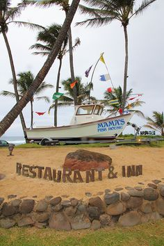 Mamas Fish House Restaurant - One of my favorite places to eat in Maui. ALWAYS ON MY LIST. DON'T MISS MAMAS FISH HOUSE.