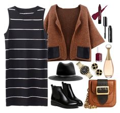 """""""Untitled #216"""" by derkinshnauf ❤ liked on Polyvore featuring Burberry, rag & bone, Marc by Marc Jacobs and Essie"""