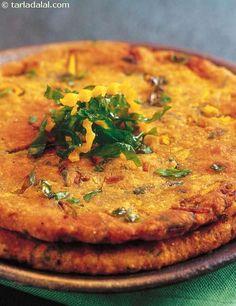 Kaddu Palak Ki Roti recipe, Calcium Rich Recipes – Famous Last Words Veg Recipes, Indian Food Recipes, Asian Recipes, Vegetarian Recipes, Cooking Recipes, Healthy Recipes, Healthy Nutrition, Bread Recipes, Falafel