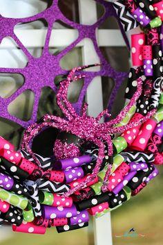 Spookalicous | Glam Halloween Wreath