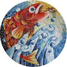 Mosaic Art Work at Kaohsiung Ming Yi Primary School (Taiwan 高雄明義國小) by HMG Mosaic Art Studio (紅毛港馬賽克工作室)