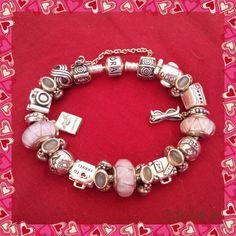 Pink travel bracelet
