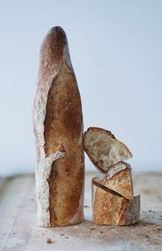 The best food. Bread Art, Pan Bread, Bread Baking, Croissants, Artisan Boulanger, Baguette, Rustic Bread, Our Daily Bread, Bread And Pastries