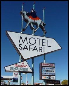 Motel Safari, Tucumcari, New Mexico