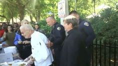 90-year-old homeless advocate arrested for feeding the homeless in Florida and he could face up to 60-days in jail.