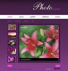 website design - flowers