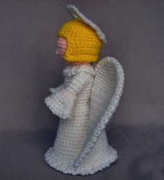 Crochet Angel PDF Pattern by WolfDreamerOTH on Etsy
