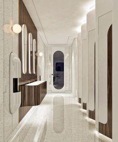 Cool 67 Amazing Public Bathroom Design Ideas. More at https://trendecor.co/2017/10/19/67-amazing-public-bathroom-design-ideas/