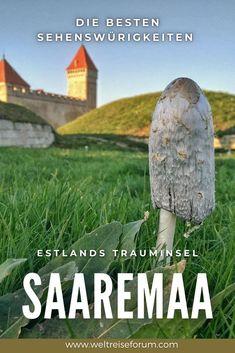 Saaremaa ist die grösste Inseln Estlands und hat dem Besucher einiges zu bieten: Endlose Sandstrände, wilde Klippen, romantische Leuchttürme, einen eindrücklichen Meteoritenkrater sowie ein riesigen mittelalterliches Schloss. Erfahre hier, wieso sich ein Besuch von Saaremaa lohnt. #estland #saaremaa #ostsee