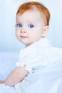Baby Girl by Joanna McVey…..BLUE EYED LOVELY………ccp