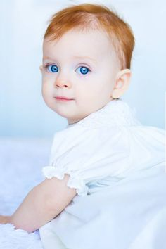 Baby Girl by Joanna McVey…..BLUE EYED LOVELY………ccp