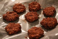 No Bake Bodybuilding Chocolate Peanut Butter Cookies