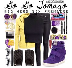 Go Go Tomago, Linger shirt and looser pants and no jewelry would be my style;)