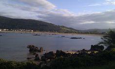 Playa de Trengandin en Noja, Cantabria.