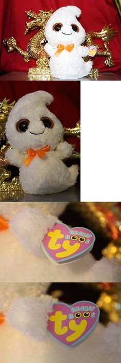 Current 1628: Ty Beanie Boos Ghosty The Halloween Ghost-10 -Mwnmt-Read Discr-Nice Gift -> BUY IT NOW ONLY: $75 on eBay!