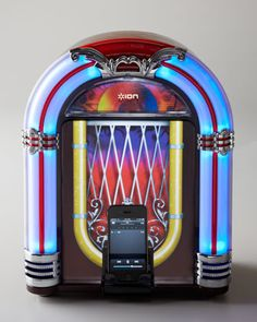 Jukebox Dock for iPad at Neiman Marcus.