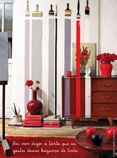 dcoracao.com - blog de decoração: Pintura estranha #3