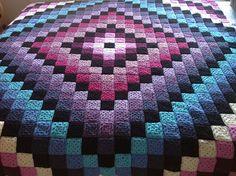 Ravelry: Gilliano's Around the World granny square patchwork blanket
