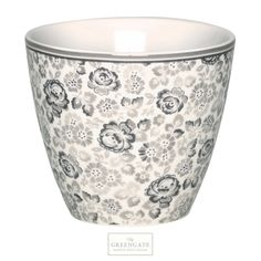 Greengate latte cup Luise warm grey SS15