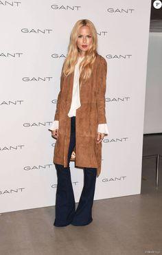 Rachel Zoe assiste à la présentation de la collection Gant printemps-été 2016 aux Spring Studios. New York, le 10 septembre 2015.