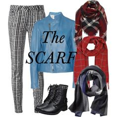 The Scarf by julie-price-thiede on Polyvore featuring Jil Sander, Kenzo and Banana Republic