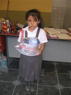 A present for Rosita! Young girl in Peru who is part of CIFA sponsorship program