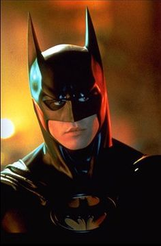Val Kilmer as Batman in the greatest Batman movies of all time Batman Forever! He did a great, hot Batman to me :) ;)