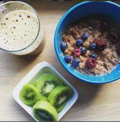 Cómo preparar porridge o gachas de avena