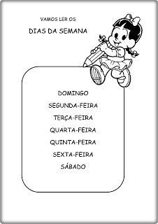 atividades de leitura
