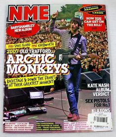 NME Magazine Arctic Monkeys AUG 2007 Sex Pistols Amy Winehouse The Strokes New Nme Magazine, The Strokes, Music Magazines, Amy Winehouse, Arctic Monkeys, Hard To Find, Pistols, In This Moment, Album