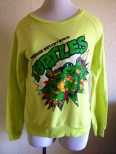 Womens Teenage Mutant Ninja Turtles Shirt Medium #Nickelodeon #GraphicTee