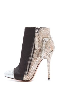 {these boots are amazing} Jean-Michel Cazabat 'Zoulu' Booties
