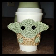 pattern for yoda cozy. HAVE TO MAKE THIS FOR DAN!