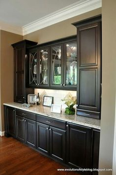 Amazing Built In Buffet This Is What I See As The Butler Pantry Hallway Between Kitchen And Formal Dining